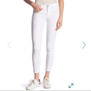 Articles of Society white skinny ankle jeans